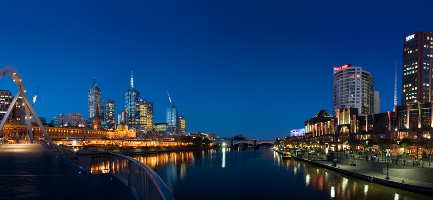Melbourne Yarra Twilight by Diliff